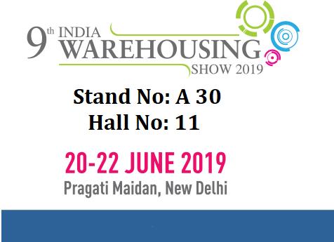 India Warehousing Show at Delhi - 20 to 22 June 2019 - INOS