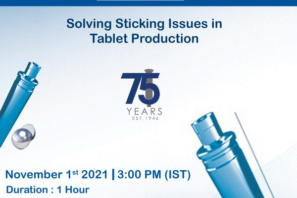 Solving Sticking Issues in Tablet Production